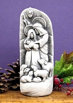 Starlight Nativity White  LIMITED EDITION Hand Cast Stone  Made in U.S.A.