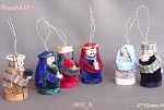 Nativity Scene Brush Art Ornaments, Philippines