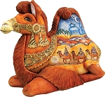 Three Kings Camel  Hand Moulded, Hand Painted   Limited Edition   Russia