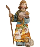 Shepherd Boy  Hand Moulded, Hand Painted   Limited Edition   Russia