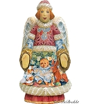 Blessing Angel  Hand Moulded, Hand Painted   Limited Edition   Russia
