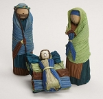 Corn Husk Holy Family Nativity, Columbia