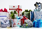 Gift Wrapping with Ribbon and Bow