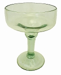 Margarita Glass, 12 oz. Clear Glass<br>Hand blown glass from Mexico