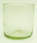 Single Old Fashion Rocks Glass<br>10 oz. Clear Glass<br>Hand blown glass from Mexico