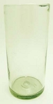 Tall Ice Tea Glass,  22 oz. Clear Glass<br>Hand blown from Mexico