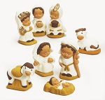 Precious Jesus Handcrafted Peruvian Nativity Set, Peru