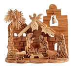 Olivewood Nativity Scene, Bethlehem, West Bank