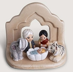 Bengal Nativity Scene, Ceramic, India