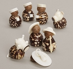 Tagua Nut Nativity, Columbia