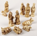 Nativity Set Olive Wood, Bethlehem, West Bank
