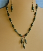 Jade, Onyx & Unikite Necklace