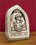 Child of Peace Nativity  Aged Hand Cast Stone  Made in U.S.A.