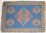 Placemat - Oasis Blue Southwestern Style - Set of 12 Placemats