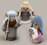 Crochet Nativity Set, Vietnam