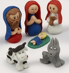 Calderon Bread Dough Nativity  Ecuador