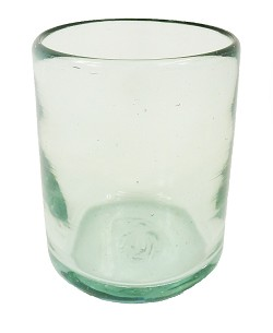 All Purpose Rocks Glass<br>12 oz. Clear glass<br>Hand blown glass from Mexico