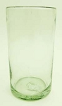 Juice Glass, 8 oz. Clear glass<br>Hand blown glass from Mexico