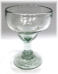 Small Stemmed Coupette Tequila Snifter<br>5 oz.Clear Glass<br>Hand blown glass from Mexico