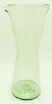 Wine Decanter - Carafe, 1 Liter Clear Glass<br>Hand blown glass from Mexico