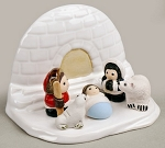 Igloo Nativity  Ceramic  Peru