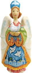 Russia -  Standing Nativity Angel  Limited Edition 6 inches tall