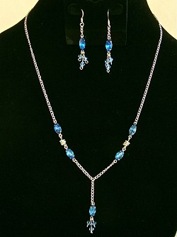 Vintage Rhinestone Crystals & Swarovski crystals Necklace and/or Matching Earrings